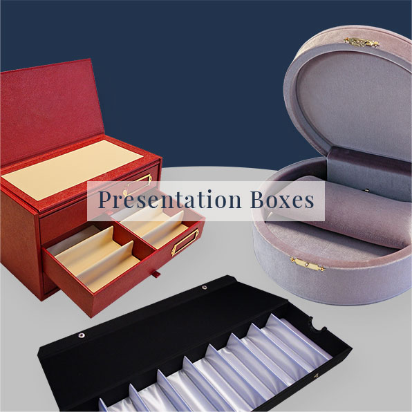 Trays and Presentation boxes